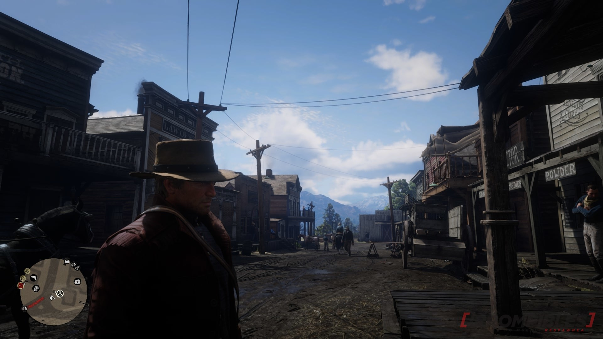 red dead redemption 2 town