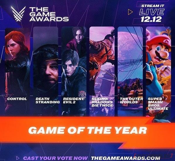 the game awards 2019 game of the year