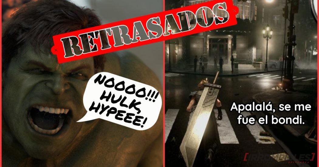 Final Fantasy VII Remake y Marvel's Avengers pospuestos. ¡Nuevas fechas anunciadas!