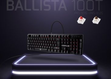 PRIMUS presenta el teclado Ballista 100T
