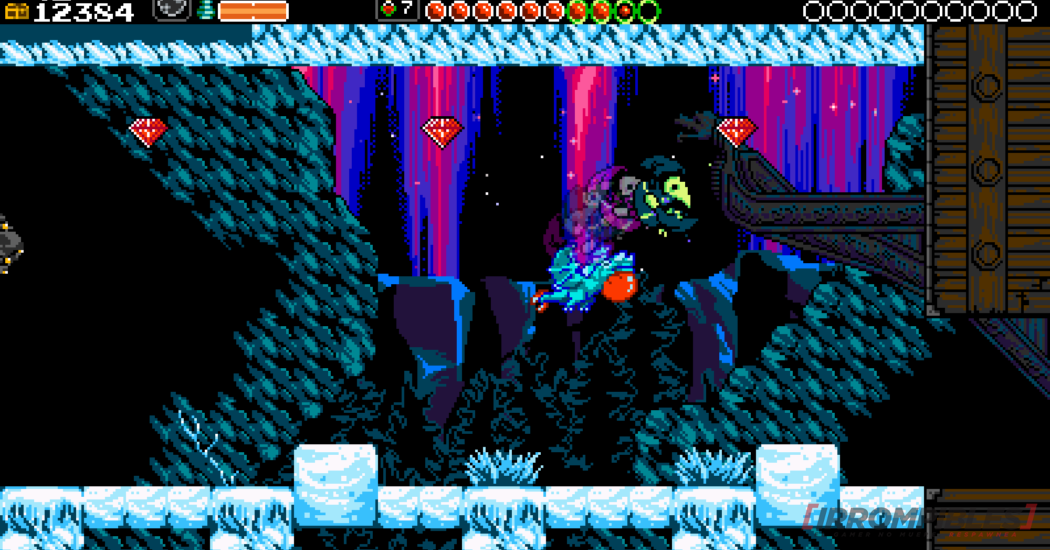 Shovel Knight plague