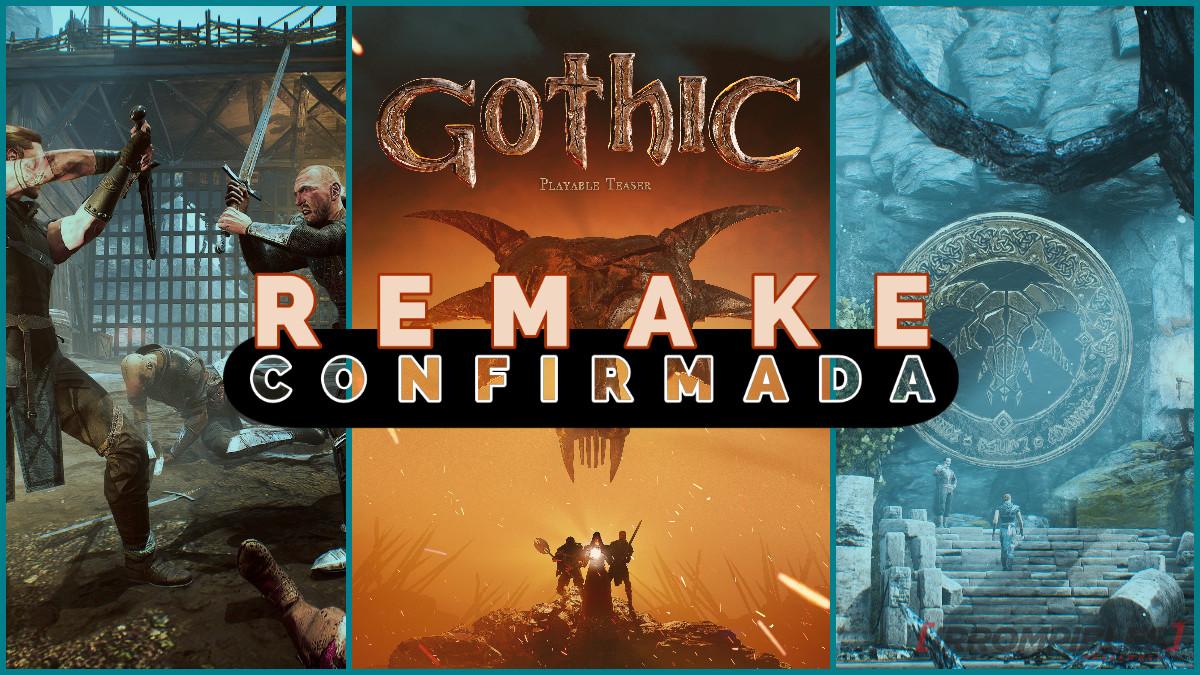 GOTHIC REMAKE CONFIRMADA