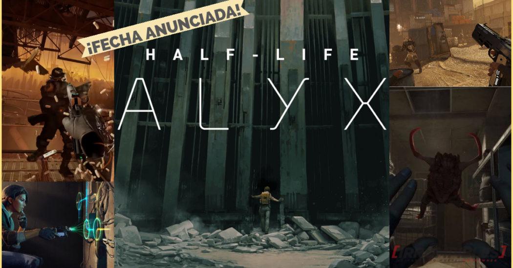 Half-Life: Alyx – Fecha de lanzamiento anunciada