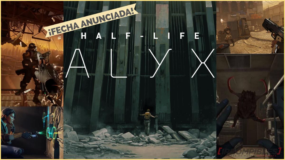 Half-Life Alyx LANZAMIENTO