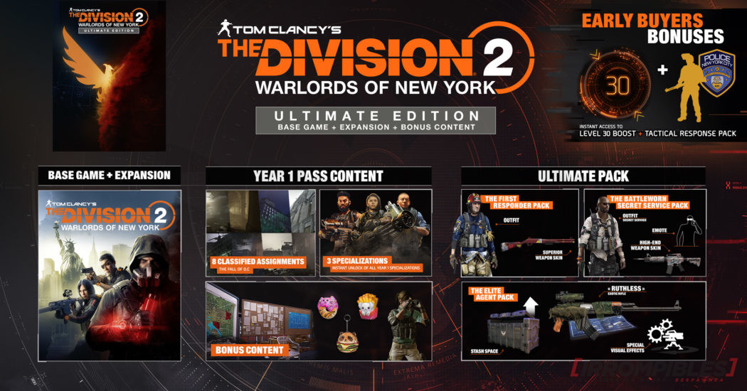 Division Warlords New York ediciones