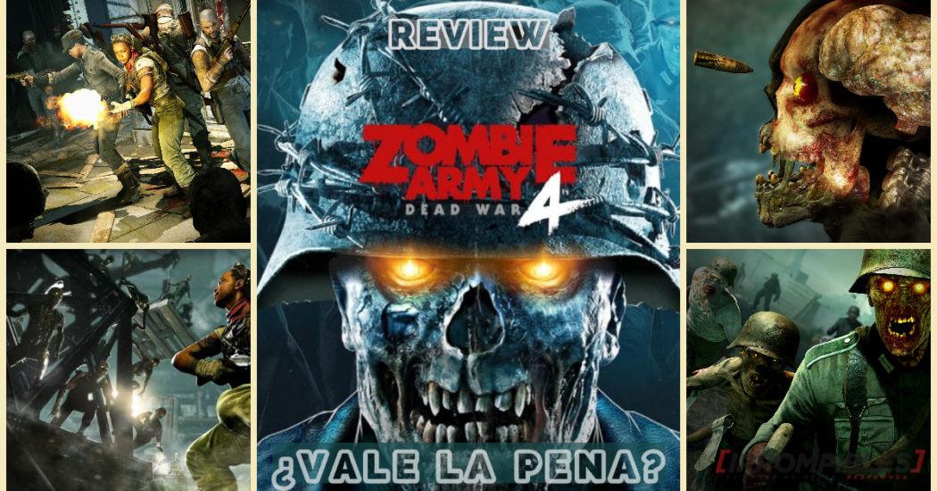 Zombie army 4 head
