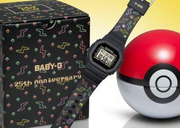 Casio BABY-G cumple 25 años y lo celebra con Pikachu y Pokémon