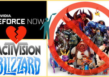 Geforce Now: ¡Activision Blizzard deja el barco!