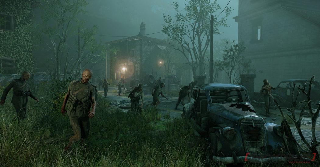 zombi army 4 escenarios