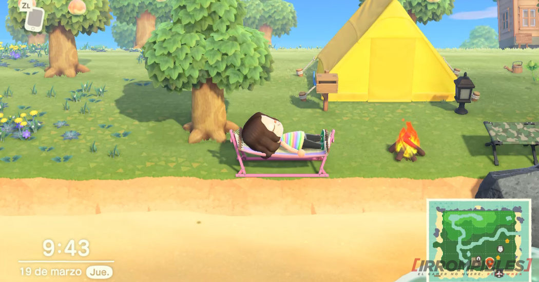 Animal Crossing New Horizons playa