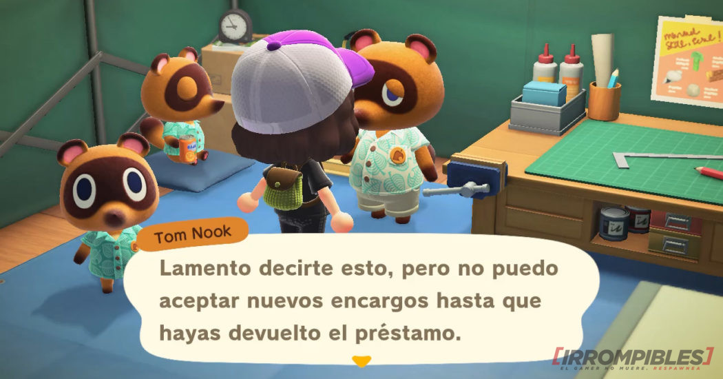 Animal Crossing New Horizons Nook