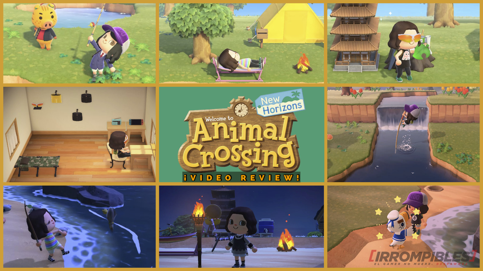 Animal Crossing: New Horizons head