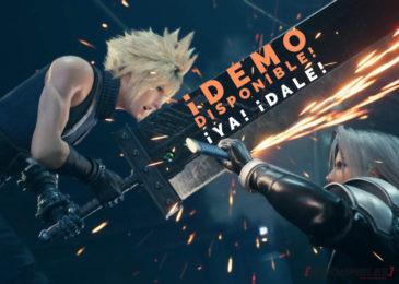 Final Fantasy VII ¡Demo disponible en PS Store! ¡YA!