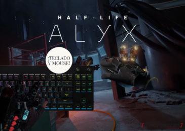 Plegarias escuchadas: ya es posible jugar Half-Life: Alyx con teclado y mouse