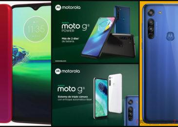 Motorola presenta en Argentina los nuevos Moto G8 y Moto G8 Power