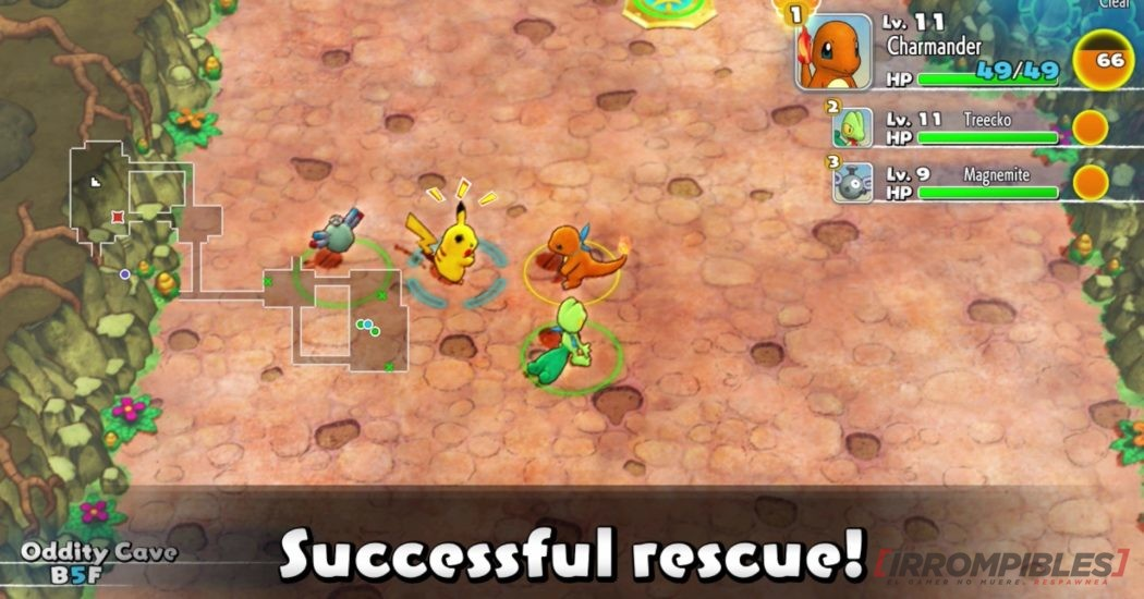Pokemon Mystery Dungeon habilidades