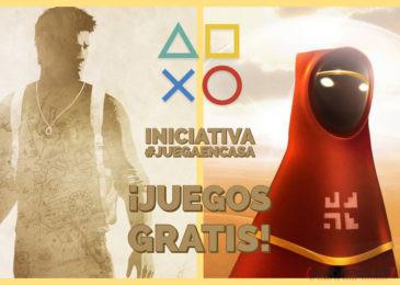 """PlayStation lanza la iniciativa """"Juega En Casa"""", con dos regalos y algo más."""