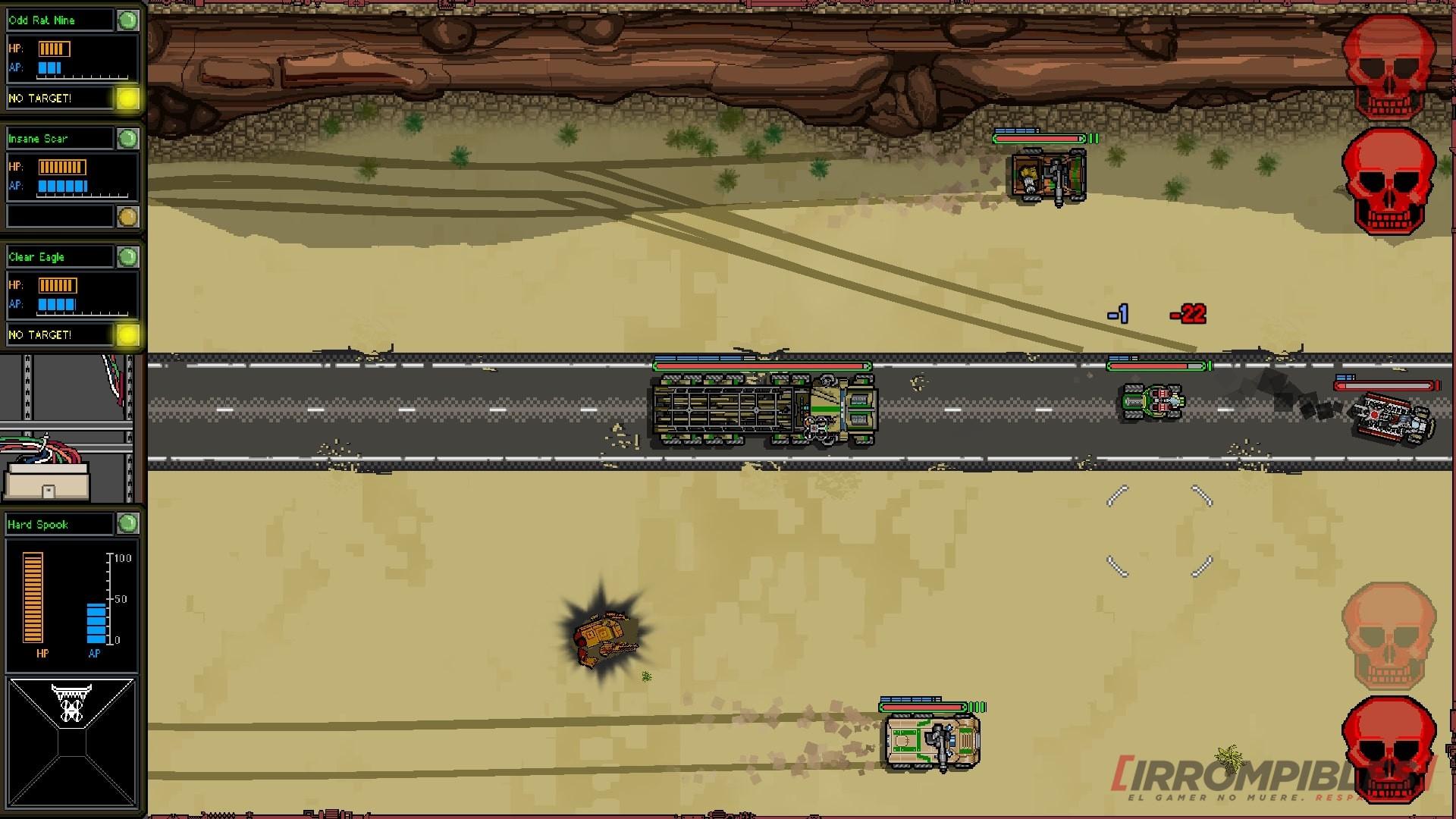 convoy camión