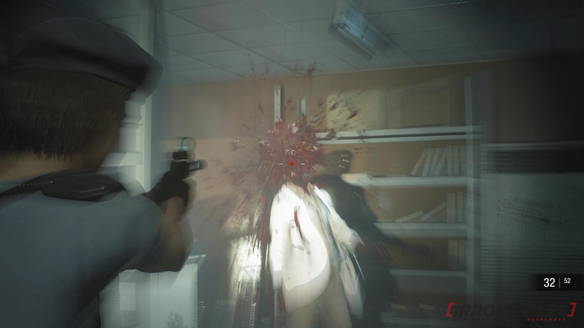 resident evil 3 remake headshot