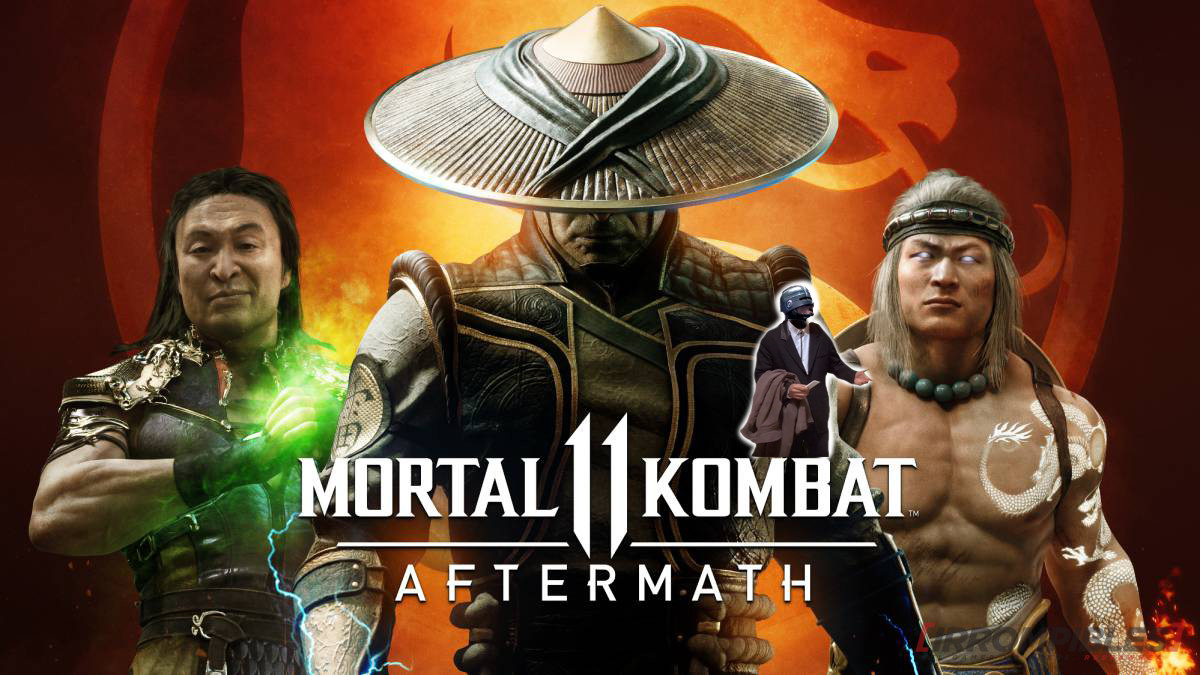 Mortal Kombat 11 Aftermath head