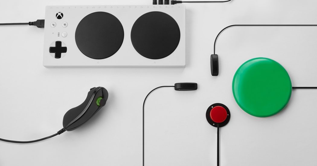 Llega a la Argentina el Control Adaptable de Xbox