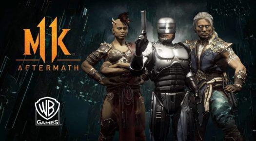 Mortal Kombat 11: Aftermath, el DLC que añade historia ¡y a Robocop!