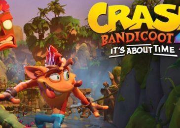 ¡Nuevo Crash en camino! Fecha confirmada para Crash Bandicoot 4: It's About Time