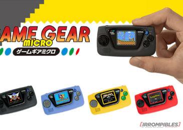 Game Gear Micro: todo vuelve, aun cuando no hace falta