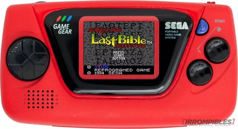 GAME GEAR MICRO red
