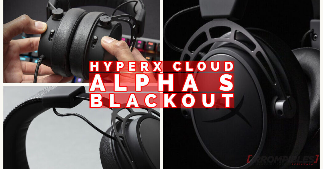 Cloud Alpha S Blackout de HyperX – ¡Video review y unboxing!
