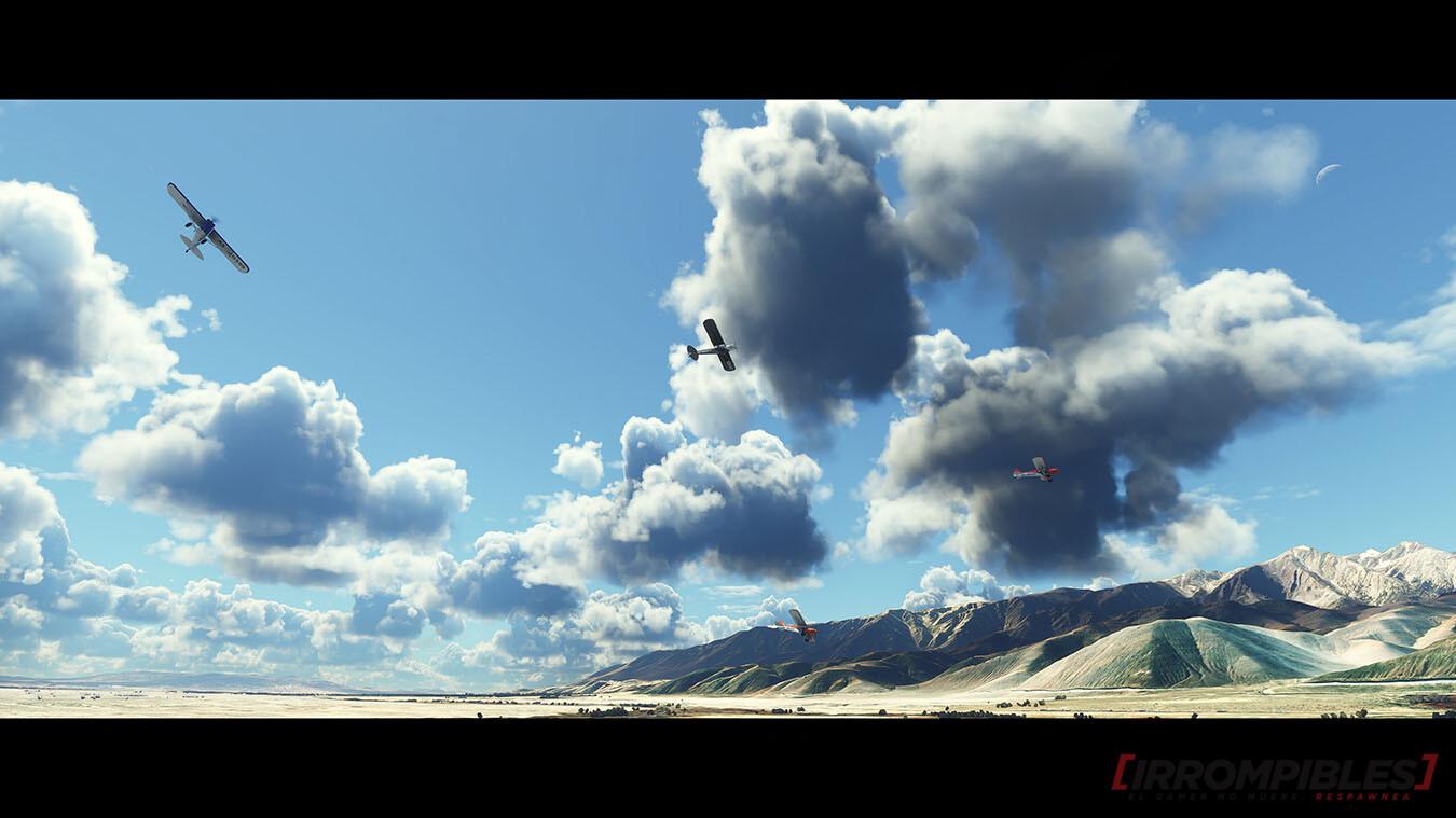 Microsoft Flight Simulator 2020 nubes