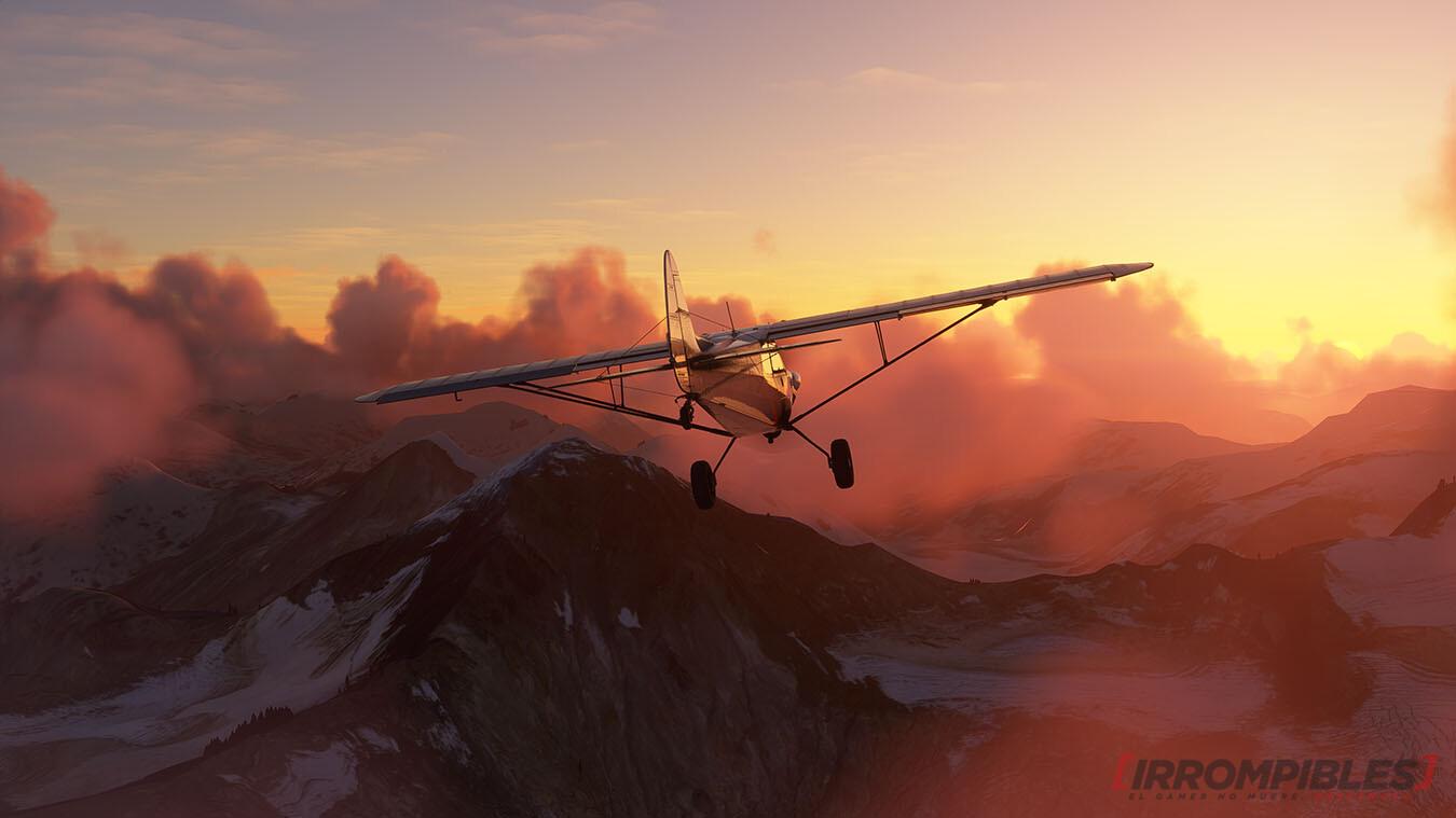 Microsoft Flight Simulator 2020 sunset 2