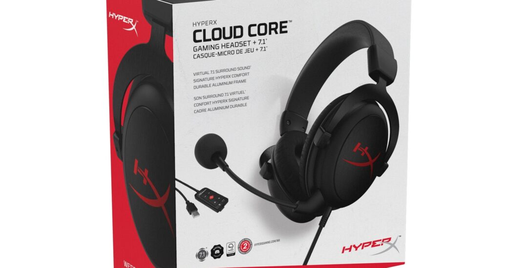 Cloud Core + 7.1: HyperX presenta nuevos headsets