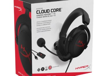 Cloud Core + 7.1: HyperX presenta nuevos headsets