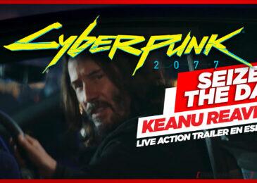 """Con el buen """"Kenu"""" como protagonista, Cyberpunk 2077 estrena live action trailer"""