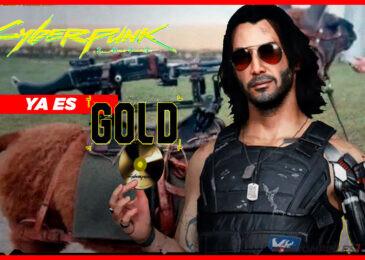 ¡Cyberpunk 2077 ya es Gold! ¡Y no significa que lo enchaparon en oro!