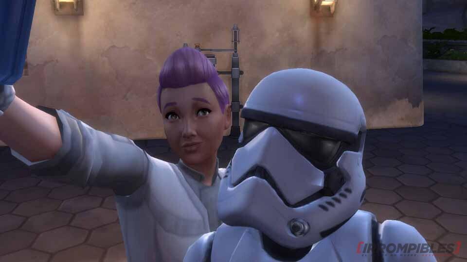 Selfie canchera con el Trooper.