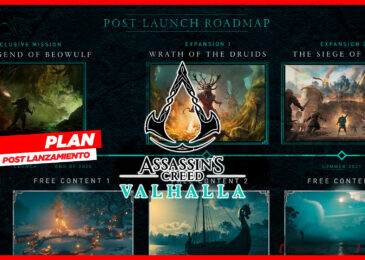 Assassin's Creed Valhalla: ¡El plan post lanzamiento!