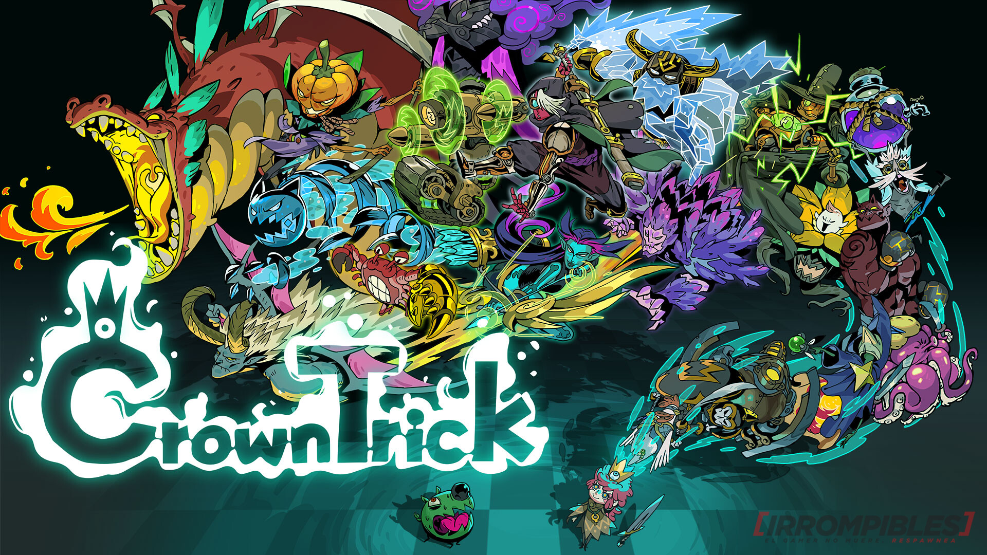 crown trick key art