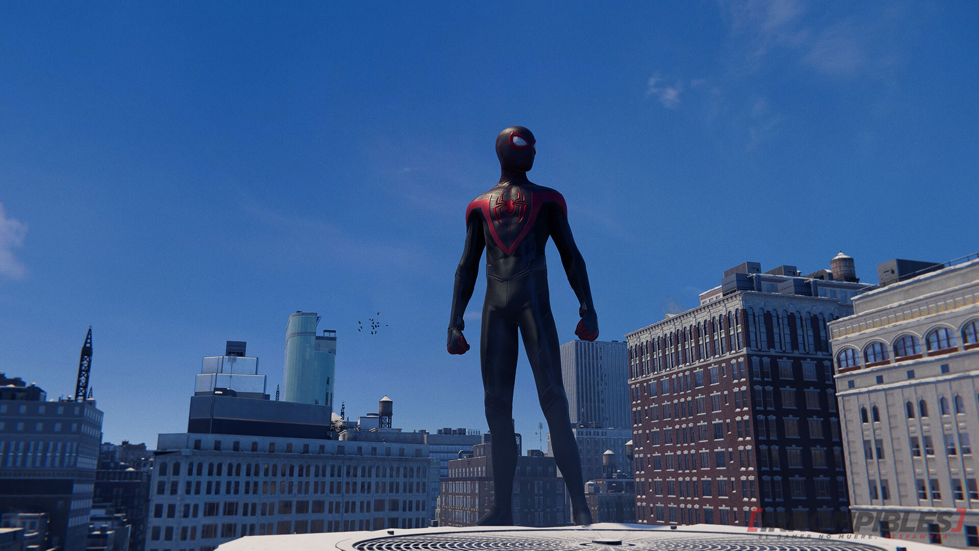 Marvels Spiderman Miles Morales Rascacielo