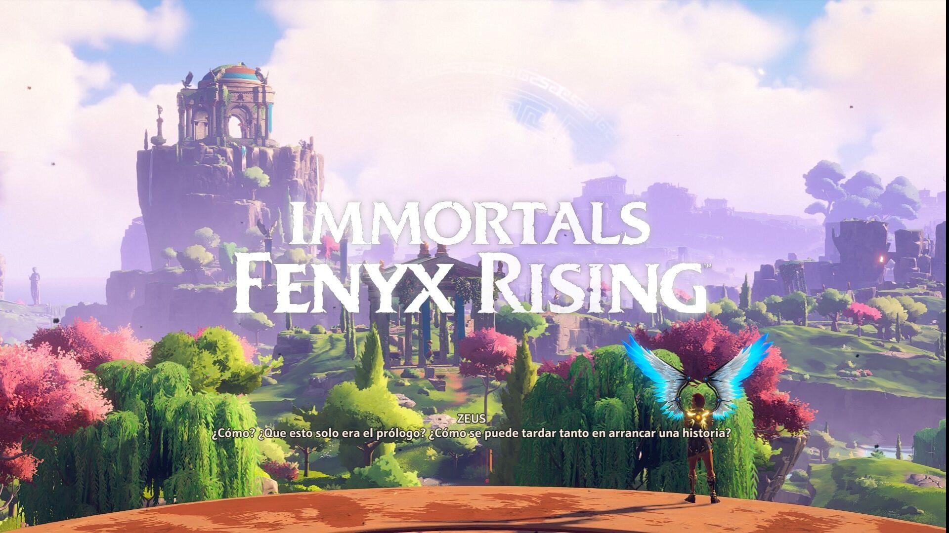 Immortals Fenyx Rising INICIO