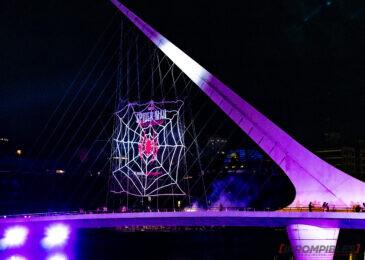 Marvel's Spider-Man: Miles Morales festejó en Puerto Madero