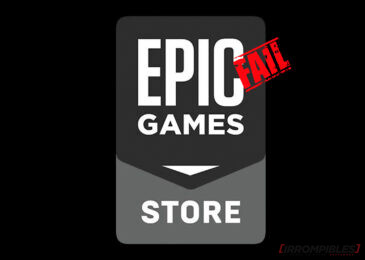 Epic Fail de Epic Game Store