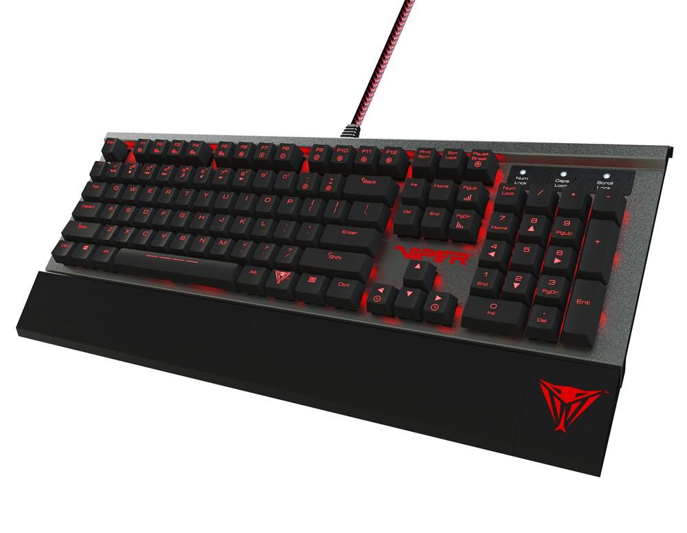 Llegó VIPER V730, el teclado mecánico de PATRIOT - [IRROMPIBLES]