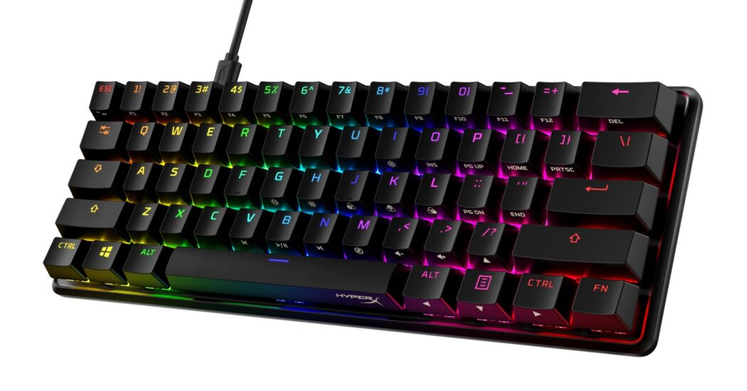HyperX lanzó el teclado mecánico para videojuegos Alloy Origins 60