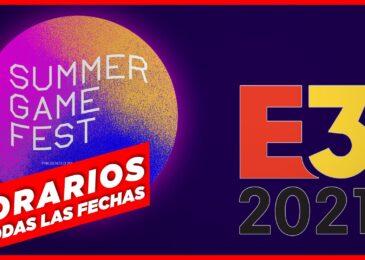 E3 2021 y Summer Game Fest: ¡Fechas y horarios de todas las conferencias!