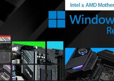 ASRock revela sus Motherboards compatibles con Windows 11