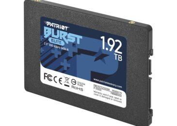 PATRIOT presenta el SSD Burst Elite en Argentina