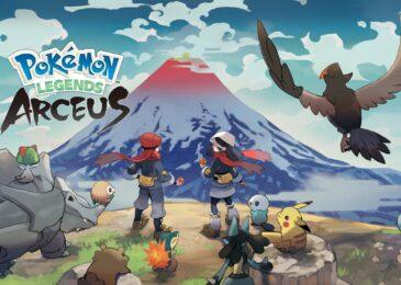 Nintendo revela nuevos detalles de Pokémon Legends: Arceus