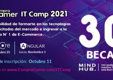 Compra Gamer lanza un Bootcamp para capacitar a 30 estudiantes de IT y  contratar a los 10 mejores